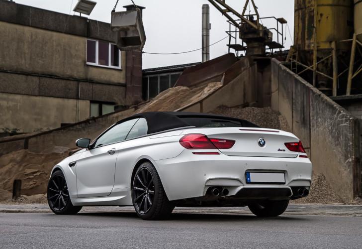 Macht auch geschlossen eine gute Figur: Das BMW M6 Cabrio von Noelle Motors.