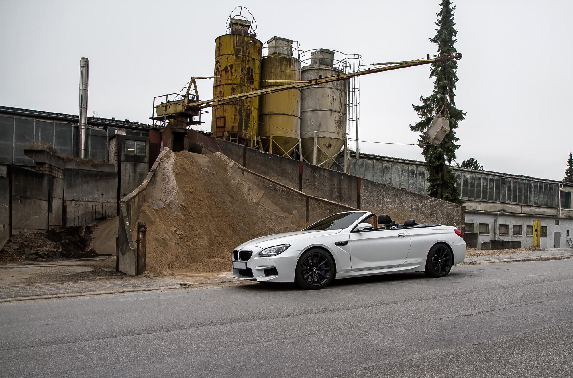 Ready for Takeoff: Das BMW M6 Cabrio geht mit bis zu 766 PS in den Export.