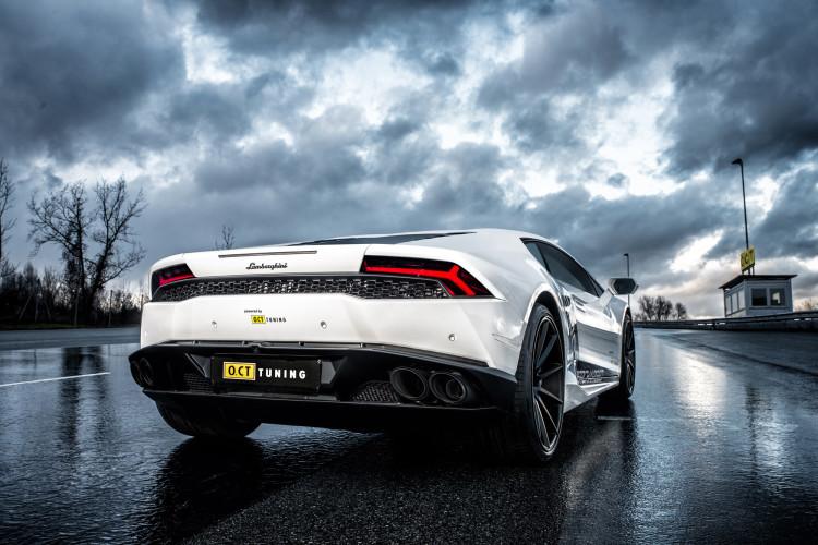 Stolzes Fabrikat: Der Lamborghini Huracán O.CT800 bringt auch eine optimierte Akustik mit sich.