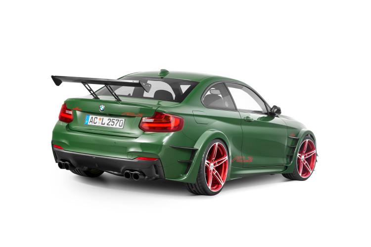 Clubsport kompakt: Der ACL2 alias BMW M235i präsentierte sich kantig auf dem Genfer Autosalon 2016.