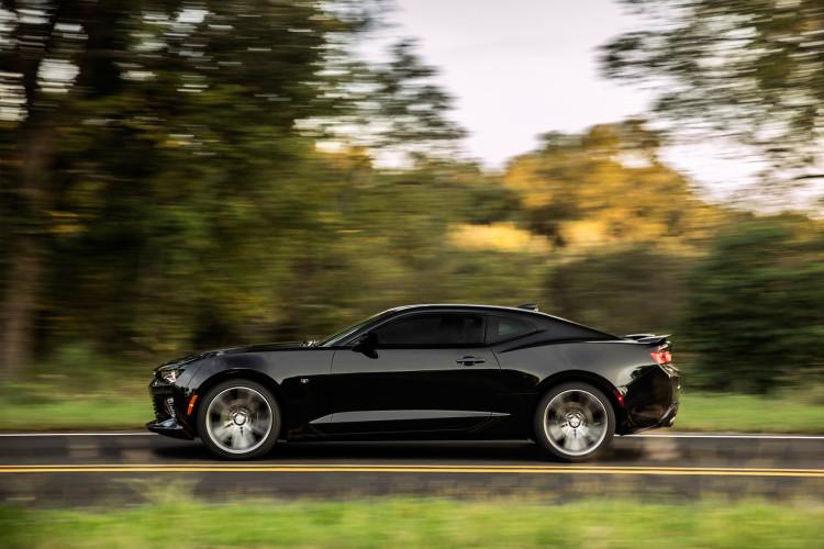 Wild durch die Prärie: Der Chevrolet Camaro SS hat mehrere Fahrmodi im Angebot.