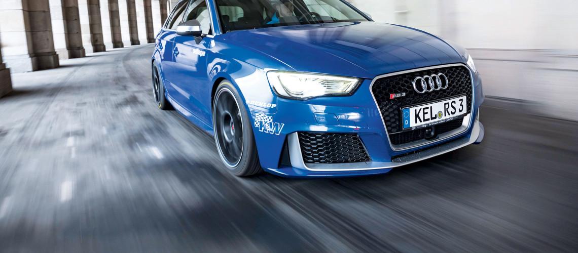 Oettinger RS3, RS3 (8V) Stufe 1 auf mindestens 309 kW (420 PS) und 625