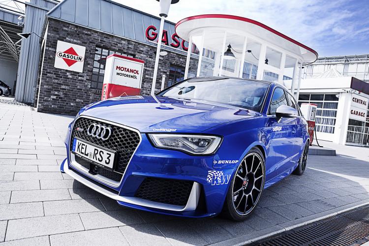 Läuft bei ihm: Der Audi RS 3 von Tuner Oettinger entwickelt auf Knopfdruck magische Kräfte.