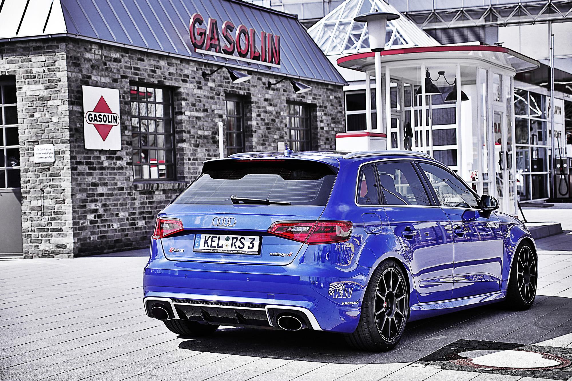 Außen hui, innen huiuiui: Mit seinen 520 PS kann der Audi RS 3 deutlich vorlegen.
