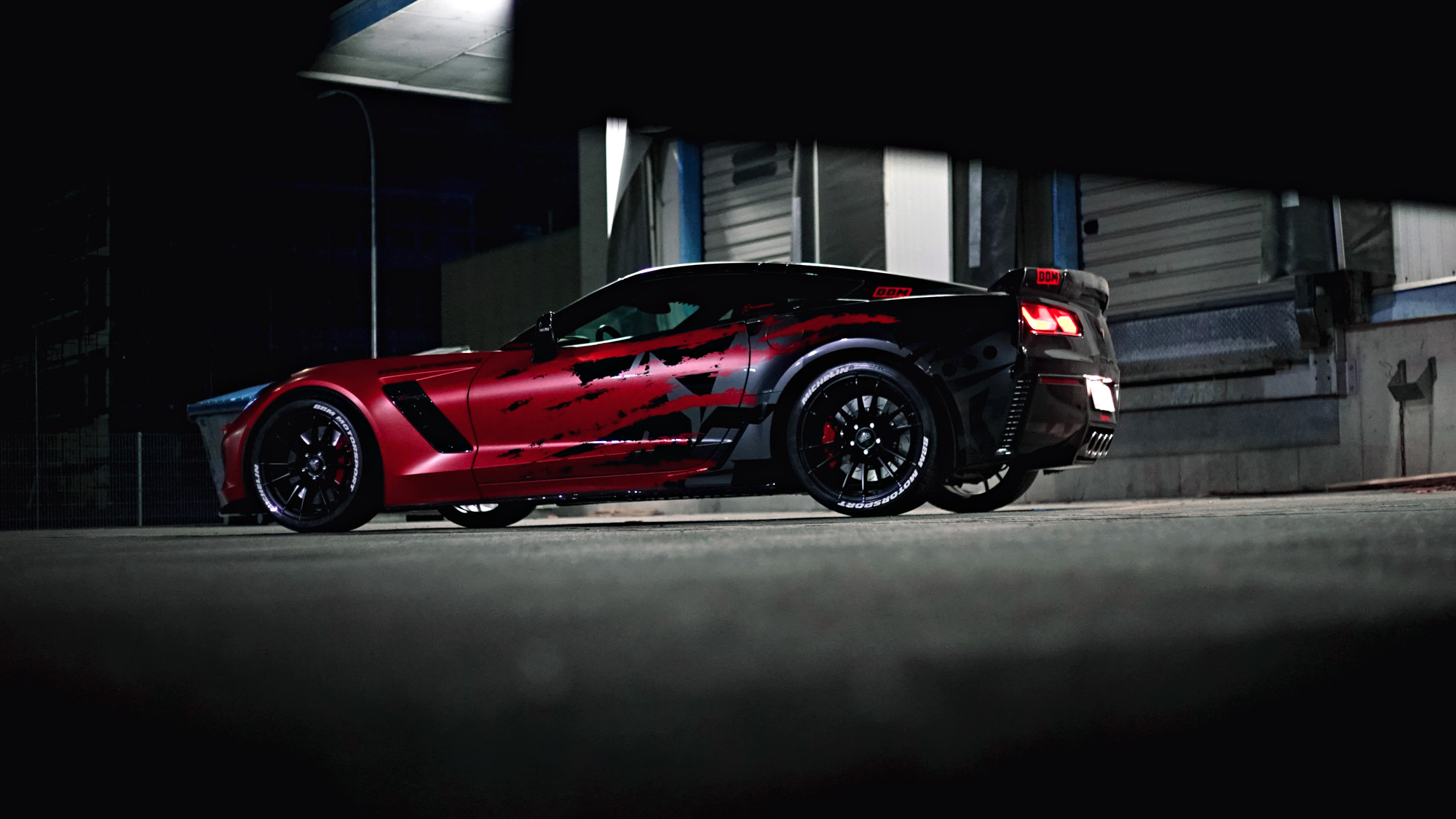 corvette c7 z06 tuning der eyecatcher von bbm motorsport. Black Bedroom Furniture Sets. Home Design Ideas