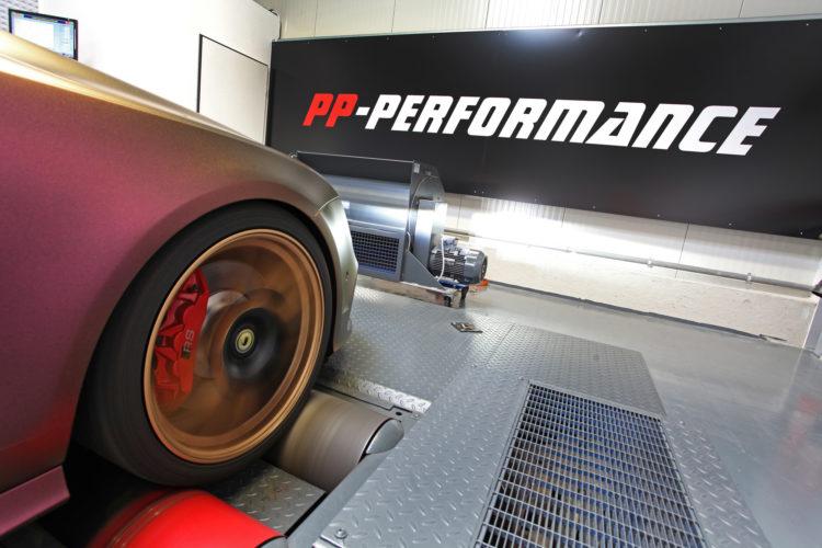 Hier wird geprüft: Der Allradprüfstand von PP-Performance.