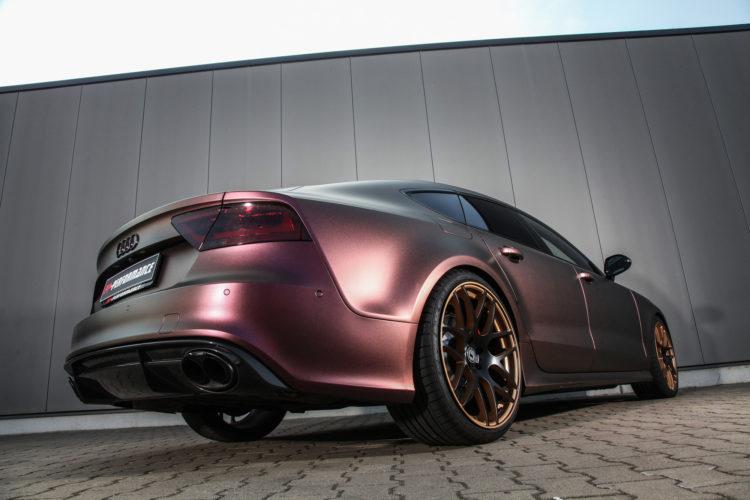 Performance auf Knopfdruck: Der Audi RS 7 von Tuner PP-Performance.