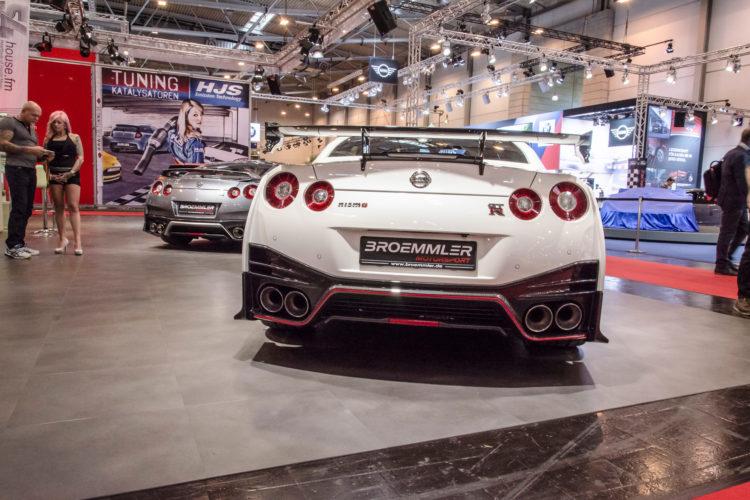 Zeigt klare Kante: Die GT-R-Bande von Tuner Broemmler Motorsport.