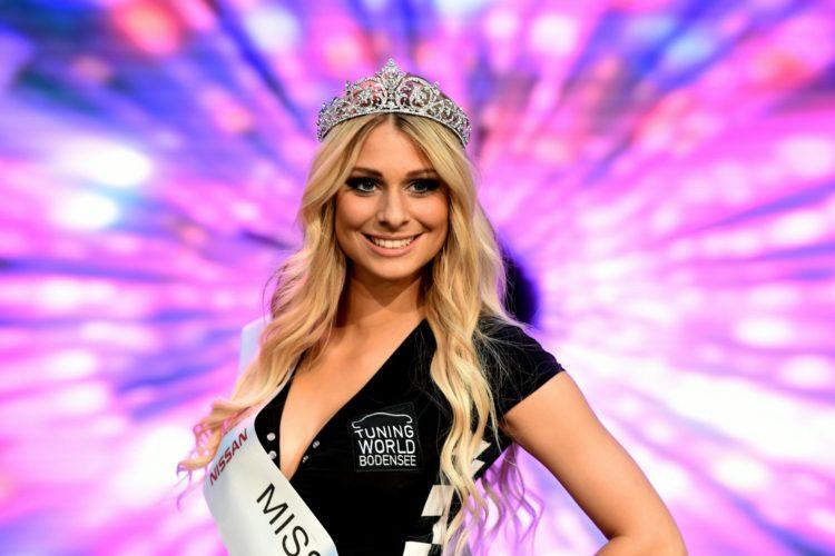 Happy Days: Vanessa Schmitt sicherte sich bei der Miss Tuning-Wahl die Krone.