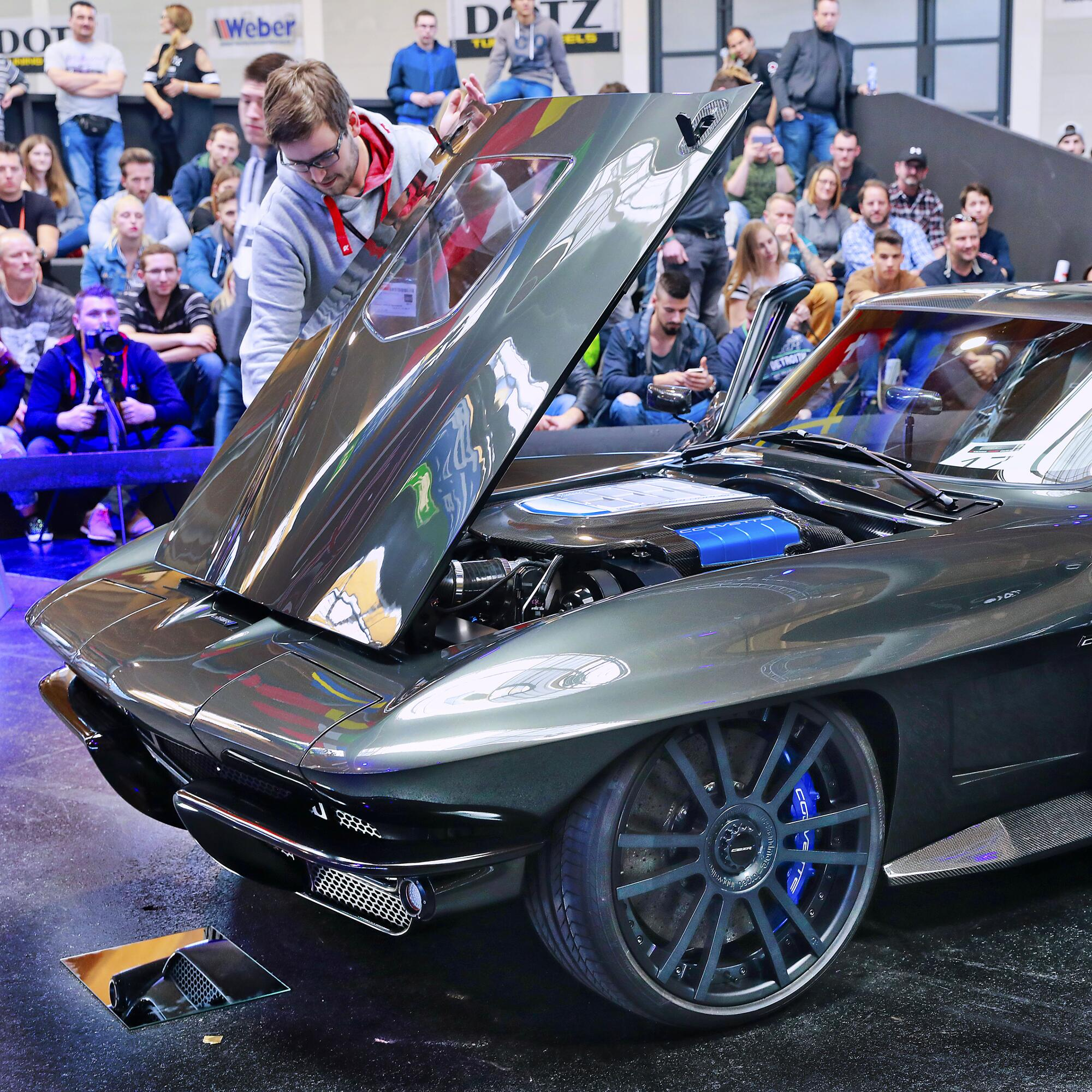 European Tuning Showdown Chevrolet Corvette 2 Tuning World