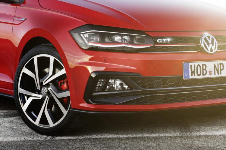 Blick nach vorn: Das Gesicht des VW Polo GTI schlägt eigene Wege ein.