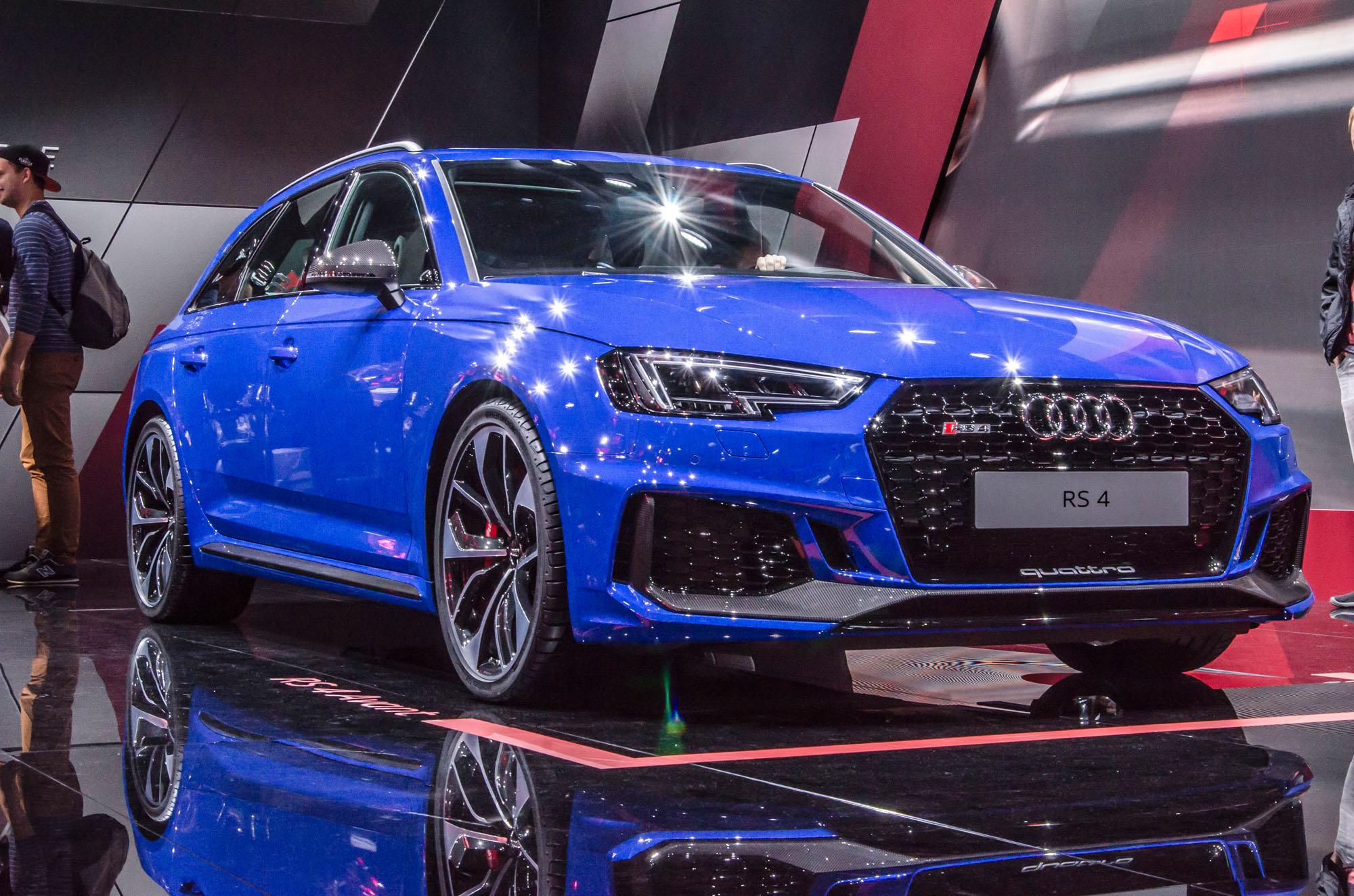 Jetzt mit V6-Biturbo unterwegs: Der neue Audi RS 4 Avant.