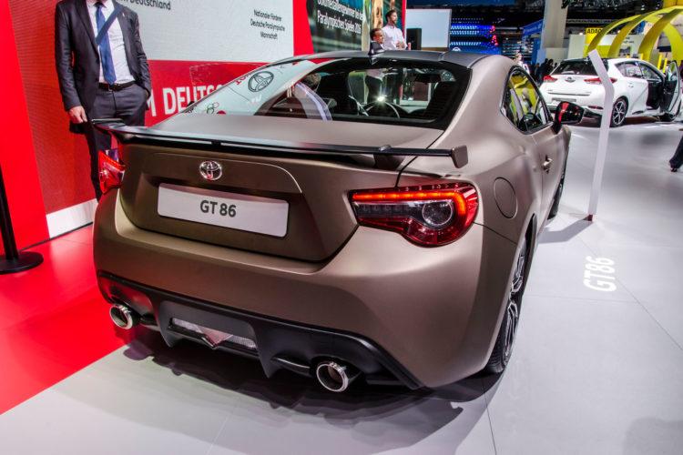 Ein knackiger Asiate, der eigentlich nie fehlen darf: Der Toyota GT86.