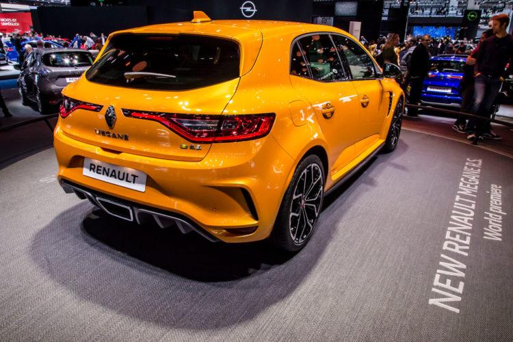 Deutlich modernisiert: Der neue Renault Mégane R.S.