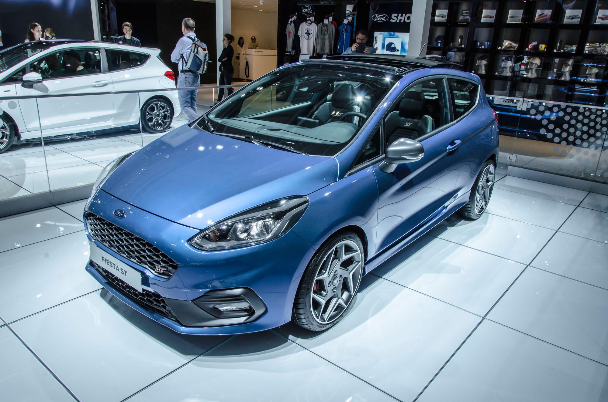 Optisch ein bisschen zu softe für sein Können: Der neue Ford Fiesta ST.