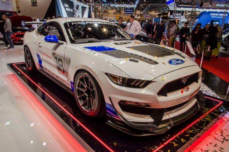 Besonderes Highlight: Der Ford Mustang GT4 auf der Essen Motor Show 2017.
